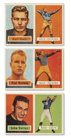 1957 Topps Football Complete Set