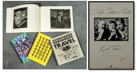 Crosby, Stills & Nash Autographs & Tour Collection (22)