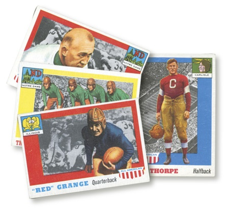 1955 Topps All American Football Set (100)