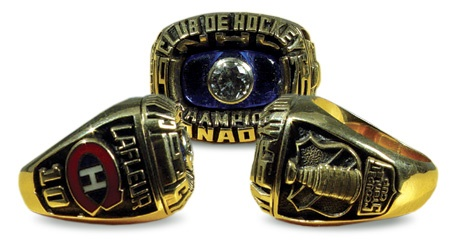 Hockey Rings and Awards - auction