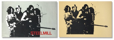 "Two Circa 1970 Steel Mill ""Stock"" Posters.  (18x12"")"