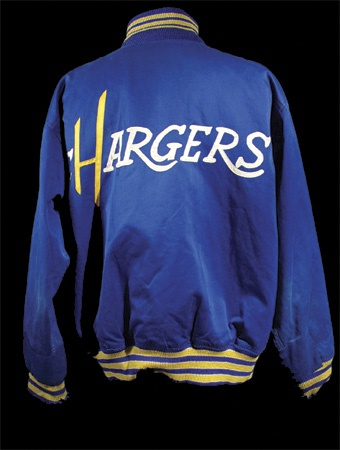 online retailer 08346 4a23b Ronald Mix AFL San Diego Chargers Jacket