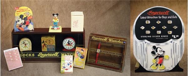 1930s-40s Walt Disney Timepiece & Display Collection  (11)