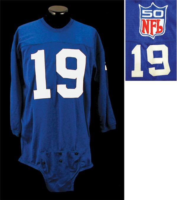 1969 Gary Wood New York Giants Game Used Jersey