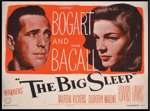 The Big Sleep Movie Poster (22x28