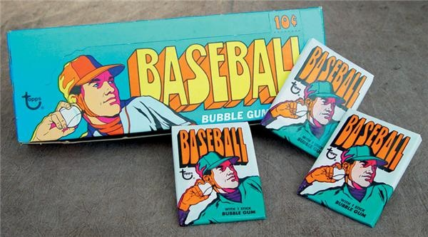 1972 Topps Baseball Wax Box