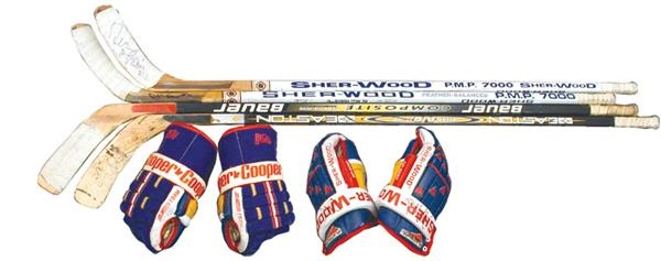 Hockey Equipment - auction