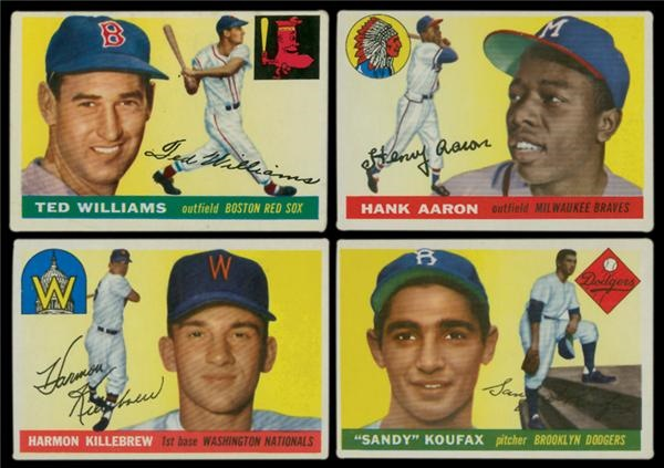 1955 Topps Baseball Near Set