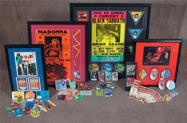 Rock Tour Pass Collection (1000+)
