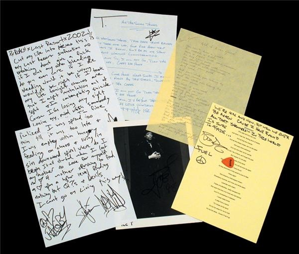 Music Autographs - auction