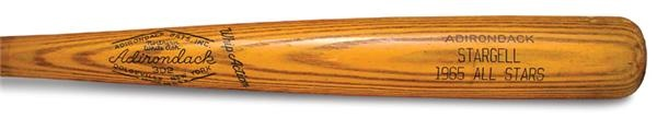 1965 Willie Stargell All-Star Game Used Bat (35.25