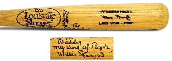 1982 Willie Stargell Autographed