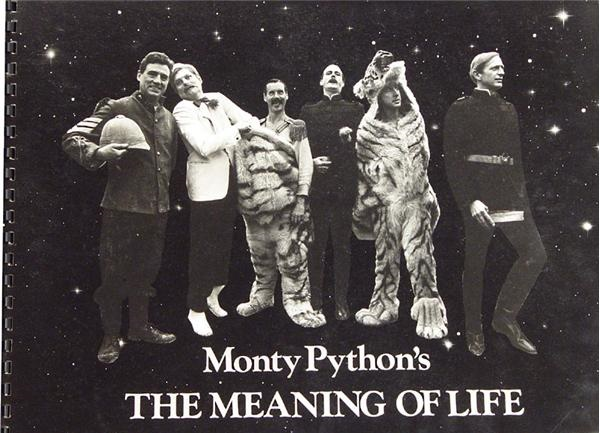 Monty Python's The Meaning of Life Presentation Book