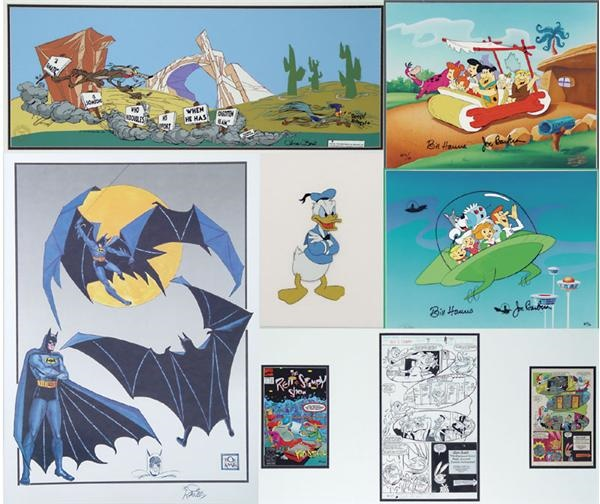 Hanna Barbera Assorted Autographed Animation Collection (19)