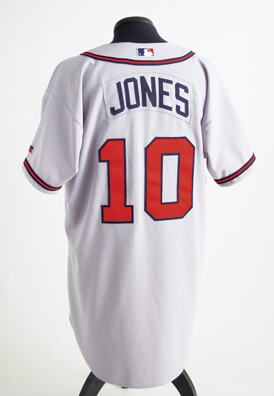 2003 Chipper Jones Game Worn Jersey