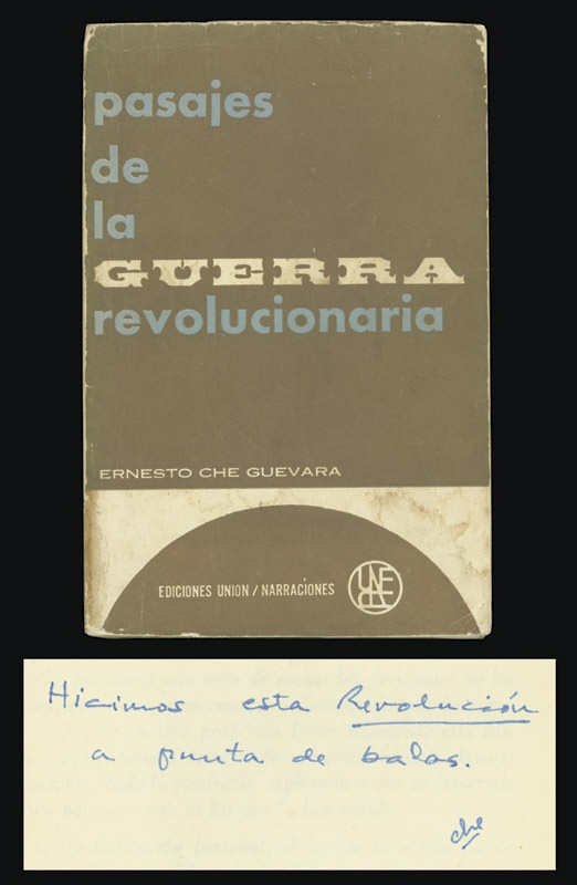 Che Guevara Signed Book