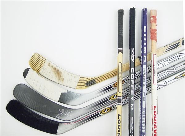 Hockey Sticks - December 2003