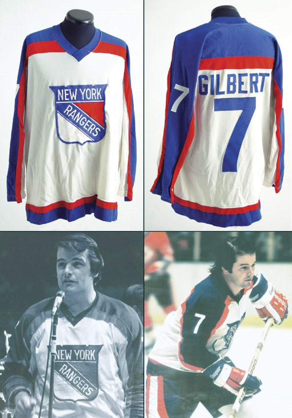 1977-78 Rod Gilbert Game Worn Jersey