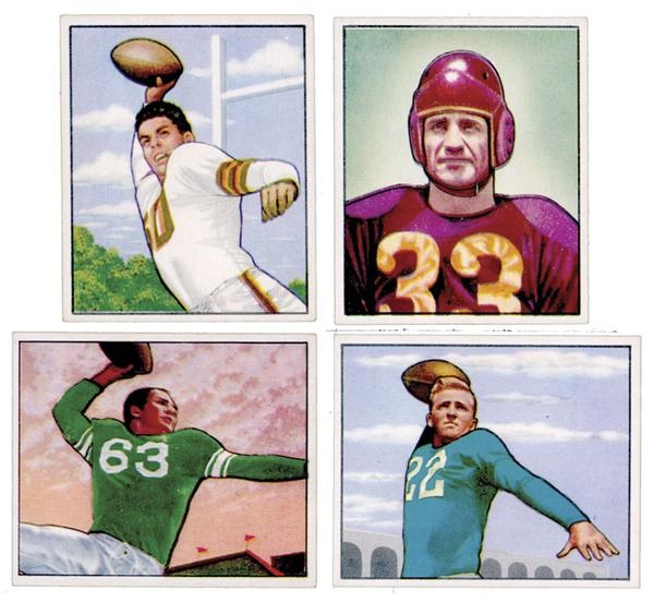 Football Cards - auction