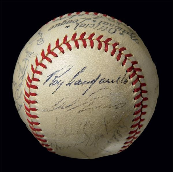 1951 National League All Stars Signed Baseball