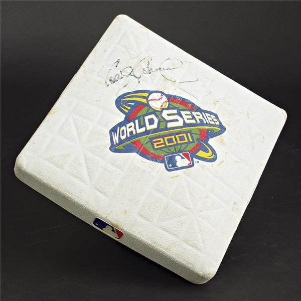 2001 World Series Game 6 Used Base