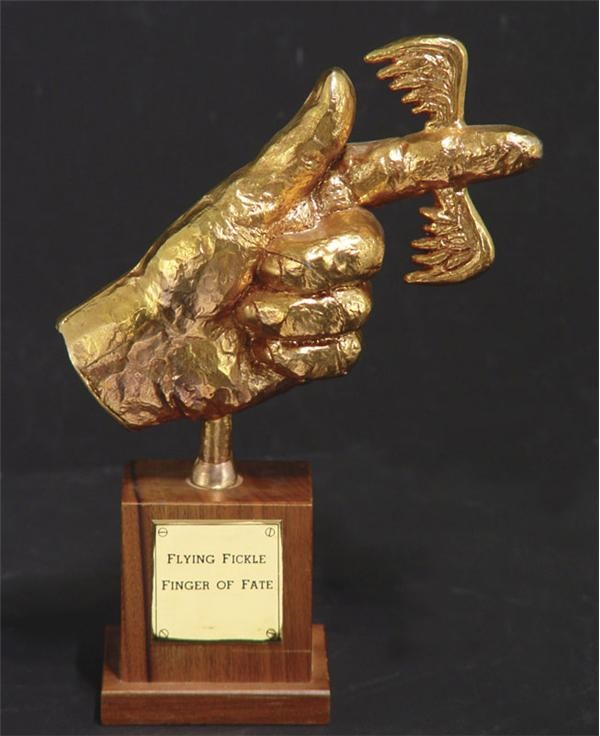 Laugh-In Flying Fickle Finger of Fate Award (9.5