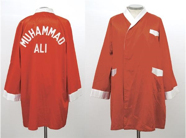 Muhammad Ali Robe Worn for Bonavena Fight w/ Photo Documentation