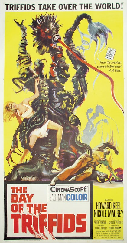 Day of the Triffids Three-Sheet Film Poster