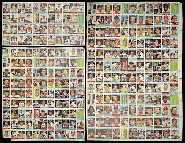Lelandscom Baseball Uncut Sheets Past Sports And Collectible