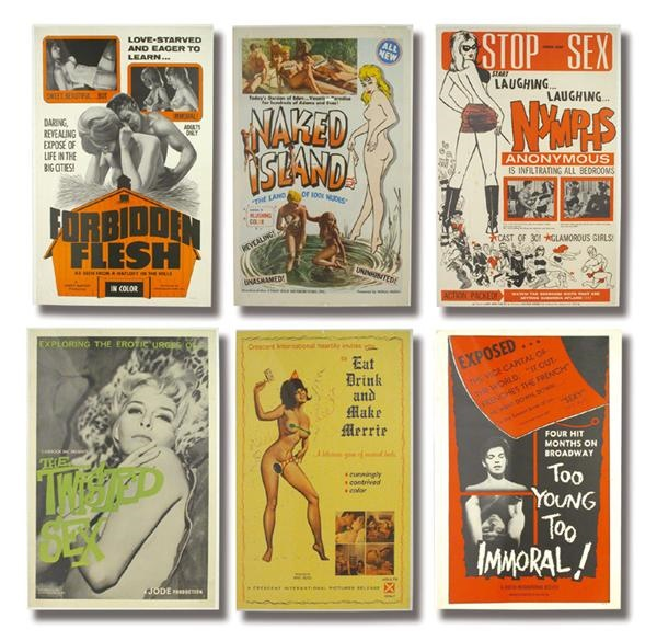 1960s Sexploitation Poster Collection