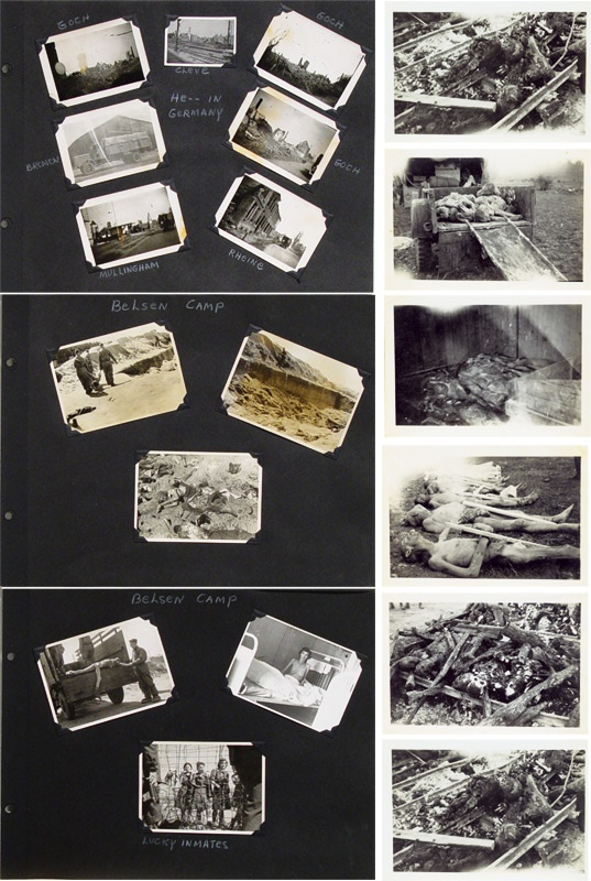 Vintage Concentration Camp Photograph Collection (60)