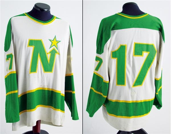 1974-75 Fred Stanfield Minnesota North Stars Game Worn Jersey