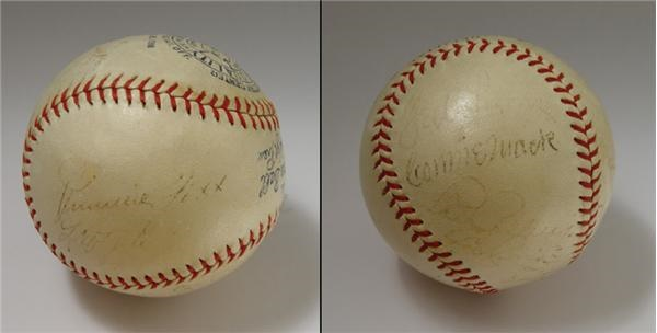 1933 All-Star Signed Baseball