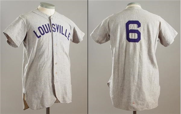 1941 Johnny Pesky Game Worn Louisville Colonels Jersey