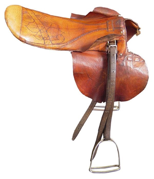 Red Pollard's Seabiscuit Saddle