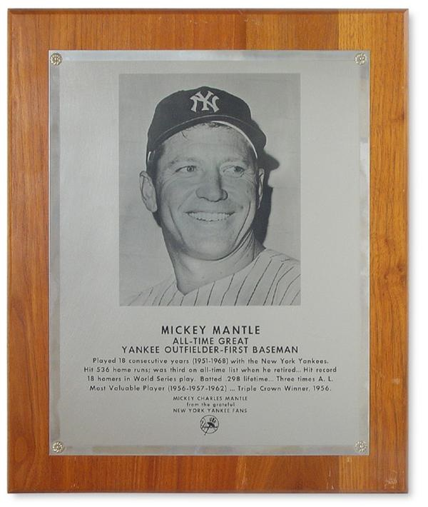 The Mickey Mantle Estate - June 2004