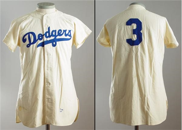 1949 Billy Cox Game Used Uniform