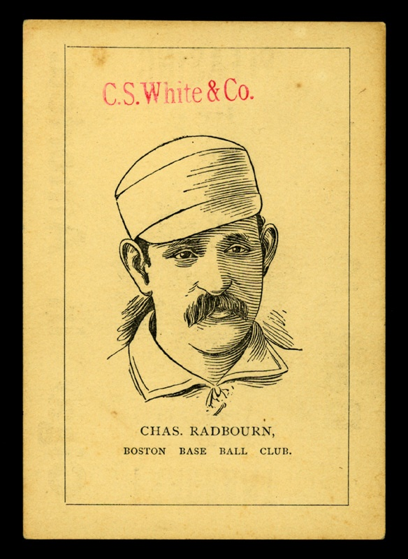 1889 Hoss Radbourn Diamond S Cigar Card