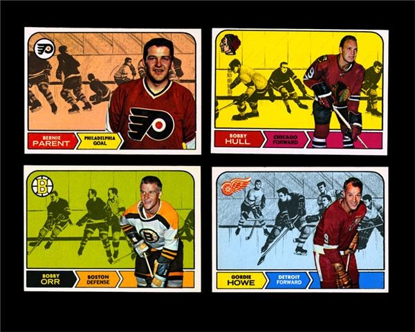 1968/69 Topps Hockey Set