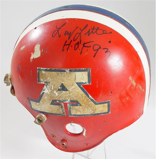 Larry Little Game Worn Pro Bowl Helmet