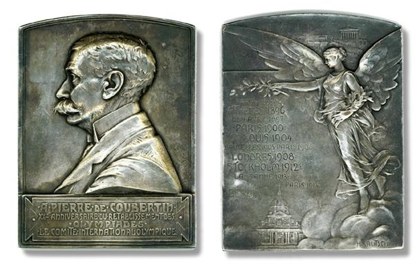1916 Berlin Olympics Medallion Phantom Olympics