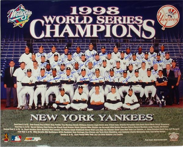 NY Yankees, Giants & Mets - June 2004