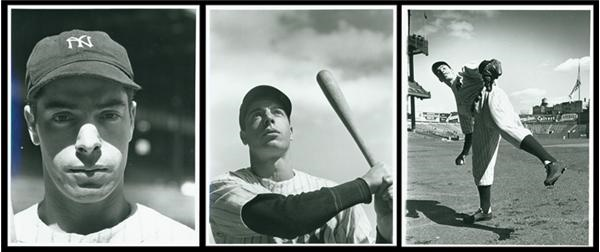 Joe DiMaggio Negatives by Hans Knopf (137)