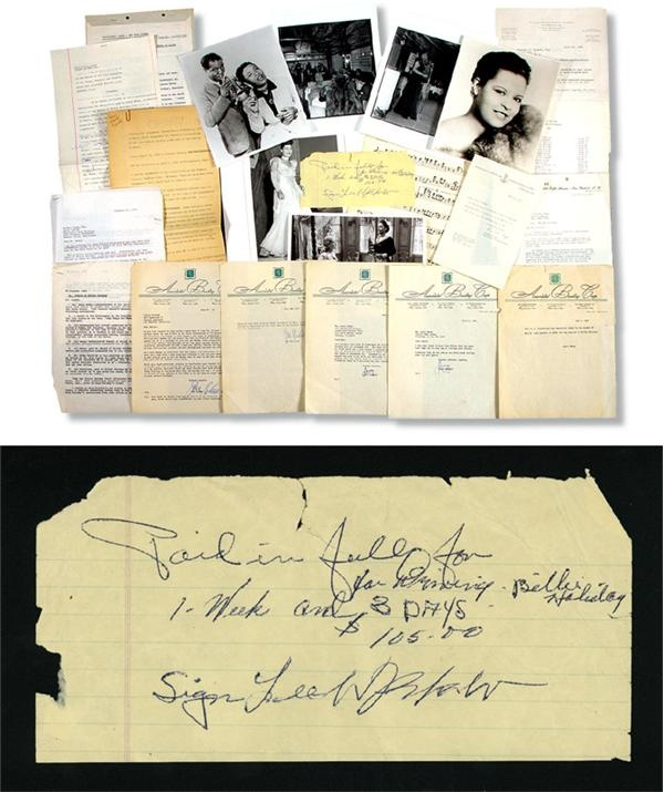 Billy Holiday Archive