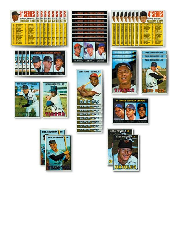 1967 Topps Baseball Collection (697)