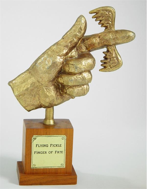 Flying Fickle Finger of Fate Award (9.5