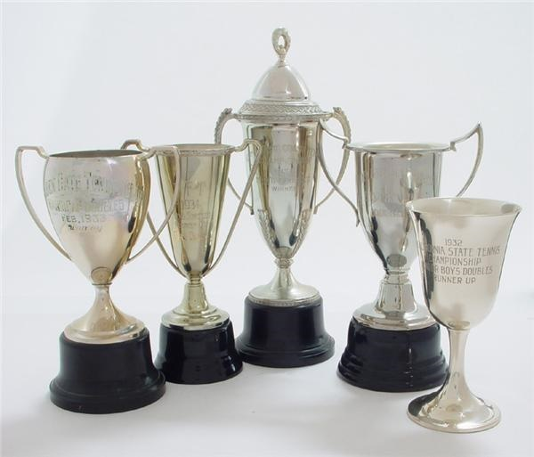 Don Budge Tennis Trophy Collection (5)