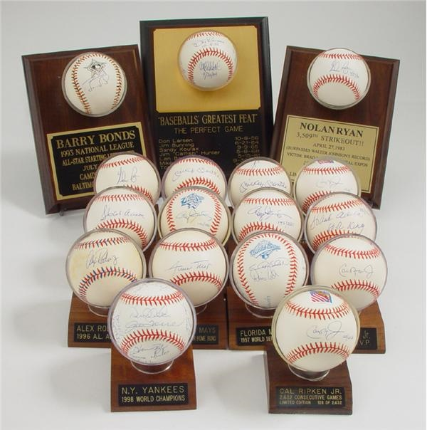 Single and Multi Signed Baseball Collection (67)
