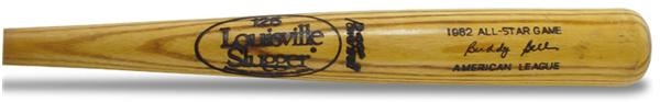1982 Buddy Bell All-Star Game Used Bat (34.5