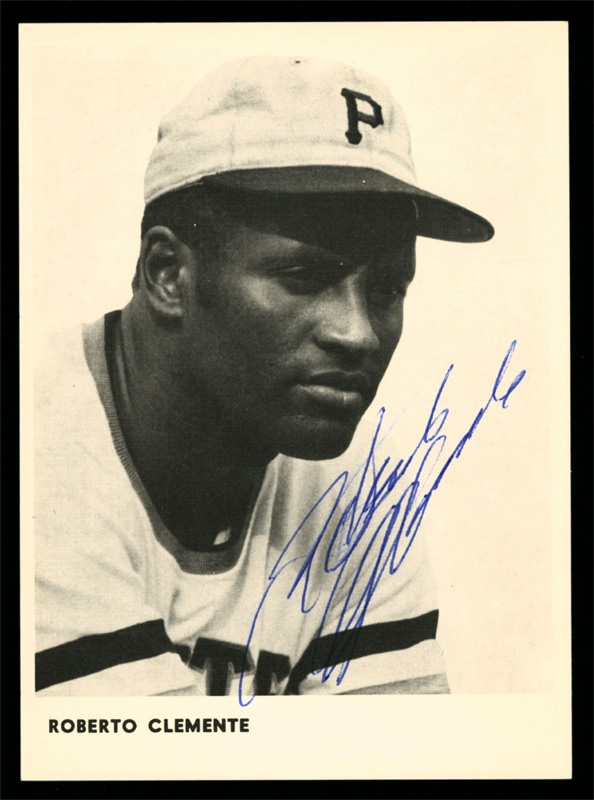 "Roberto Clemente ""Autograph Sunday"" Signed Photo"
